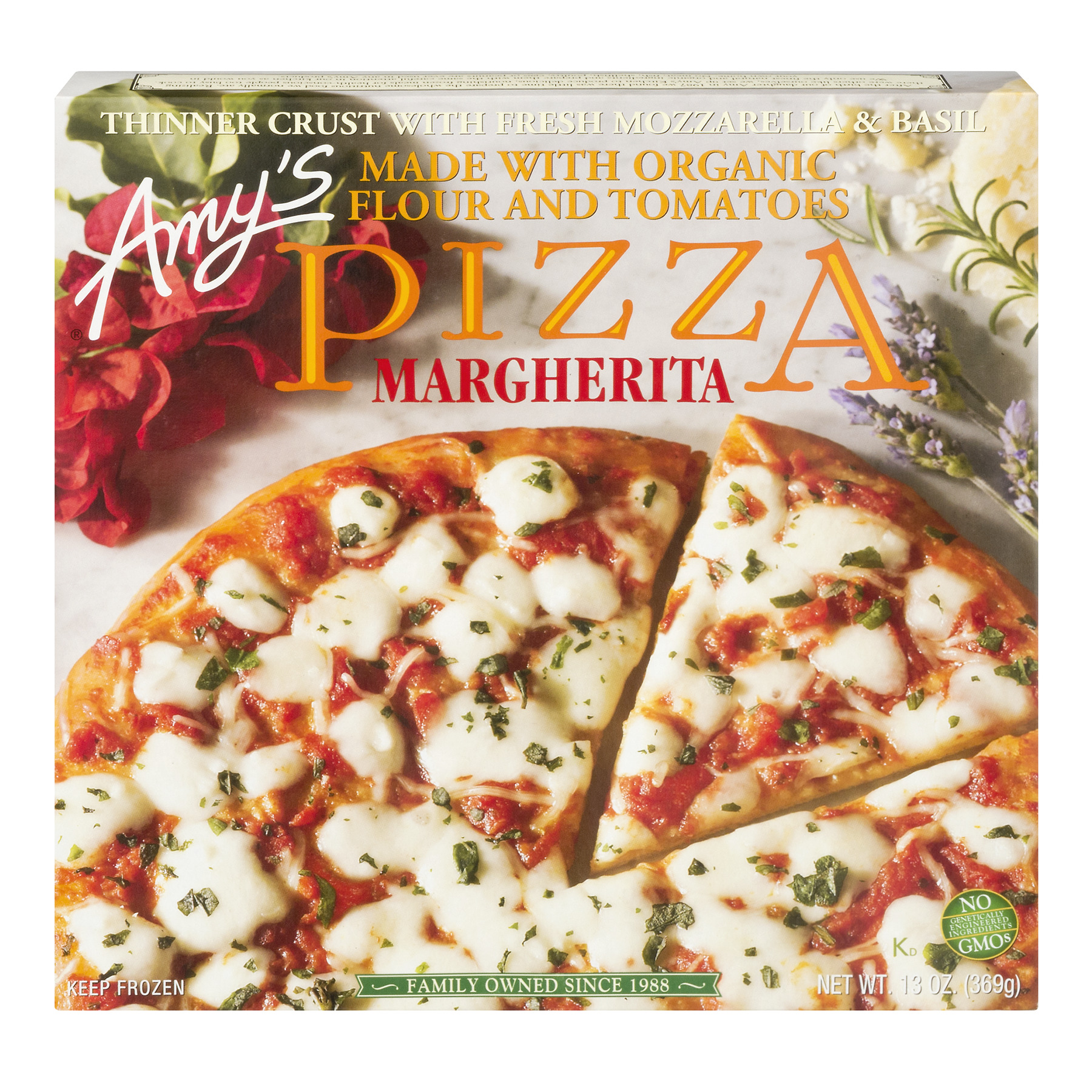 Amy's Pizza Margherita, 13.0 OZ