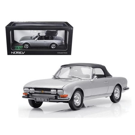 1971 Peugeot 504 Cabriolet Grey 1/18 Diecast Car Model by - Peugeot 406 Cars