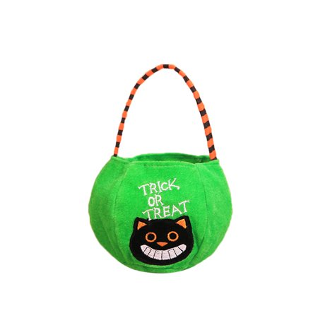 DZT1968 Halloween Gift Candies Bags Amusing Fluffy Bags Tote Bags for Kids - Paper Bag Halloween Crafts For Kids