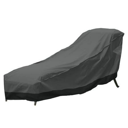 Superb Outdoor Patio Chaise Lounge Chair Cover 78 Length Dark Grey With Black Hem 100 Waterproof Winter Storage Cover Deck Patio Backyard Veranda Porch Ibusinesslaw Wood Chair Design Ideas Ibusinesslaworg