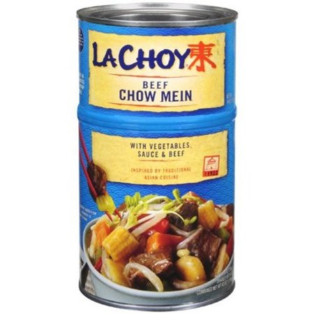 La Choy Beef Chow Mein with Vegetables and Sauce