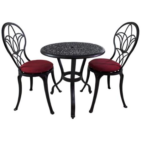 Sunbrella Patio Furniture Sets.Royal Bistro 3 Piece Patio Furniture Set With Sunbrella Cushions