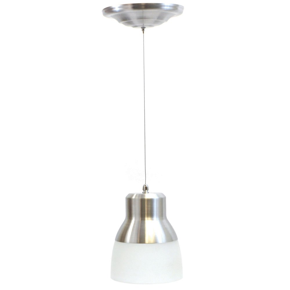 It's Exciting Lighting Glass Pendant Light Nickel - 7\