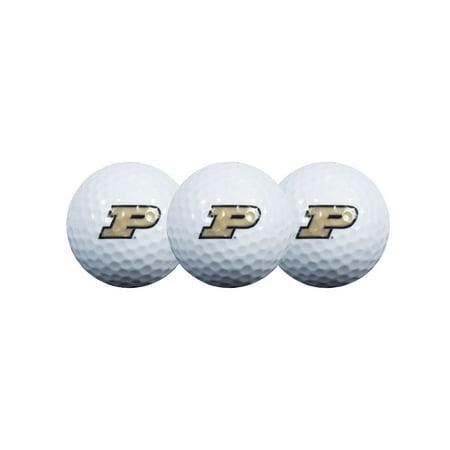- Team Effort Purdue Boilermakers Golf Balls, 3 Pack