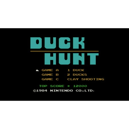 Duck Hunt, Nintendo, WIIU, [Digital Download], 0004549666065 (Duck Hunt With Zapper)