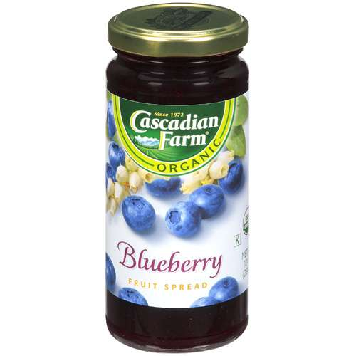 Cascadian Farm: Organic Blueberry Fruit Spread, 10 Oz