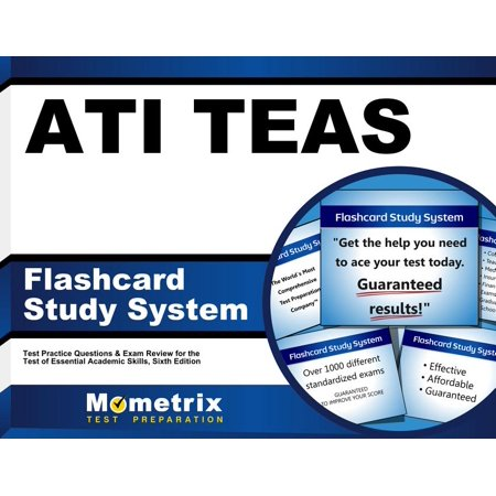 Ati Teas Flashcard Study System: Teas 6 Test Practice Questions & Exam Review for the Test of Essential Academic Skills, Sixth Edition (Other)