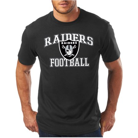 Nfl Big Mens Oakland Raiders Short Sleeve Tee
