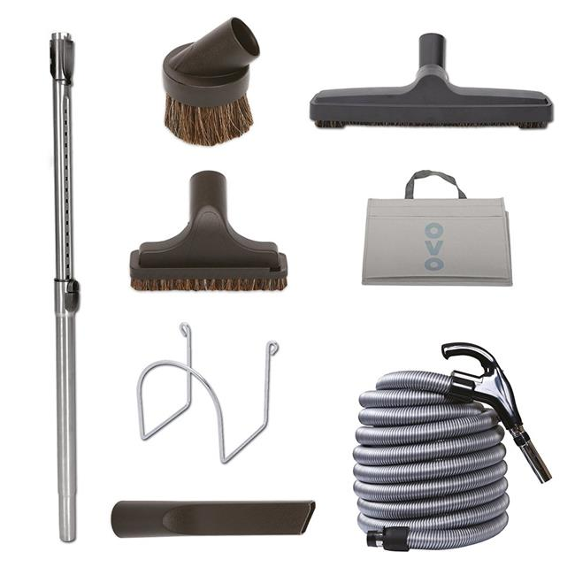 OVO KIT-LV30D-OVO Deluxe Central Vacuum Cleaning Tools Kit - image 1 of 1