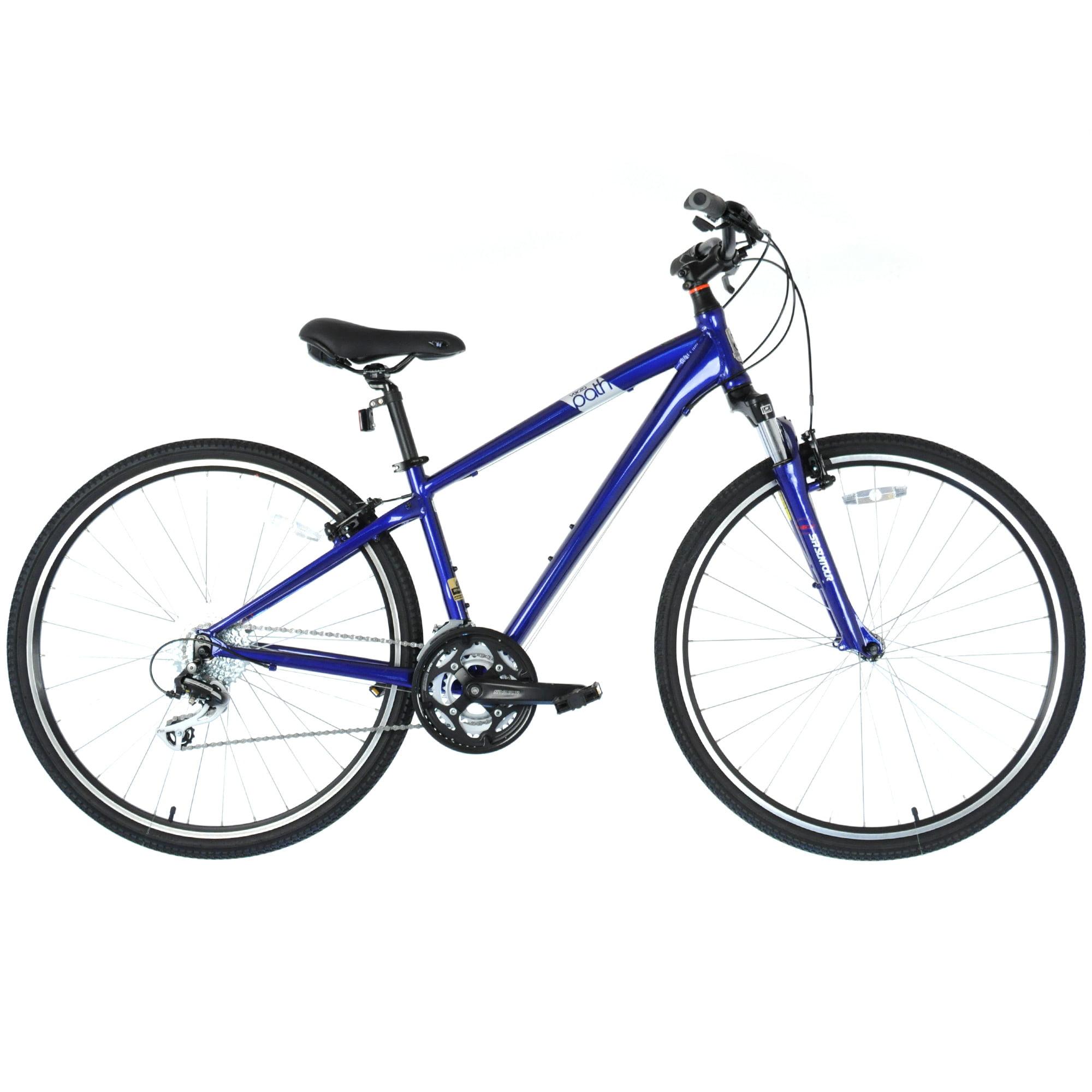 "2016 FELT Verza Path 20 Upright Hybrid Fitness Bike 3x8-Speed // Blue // 16"""