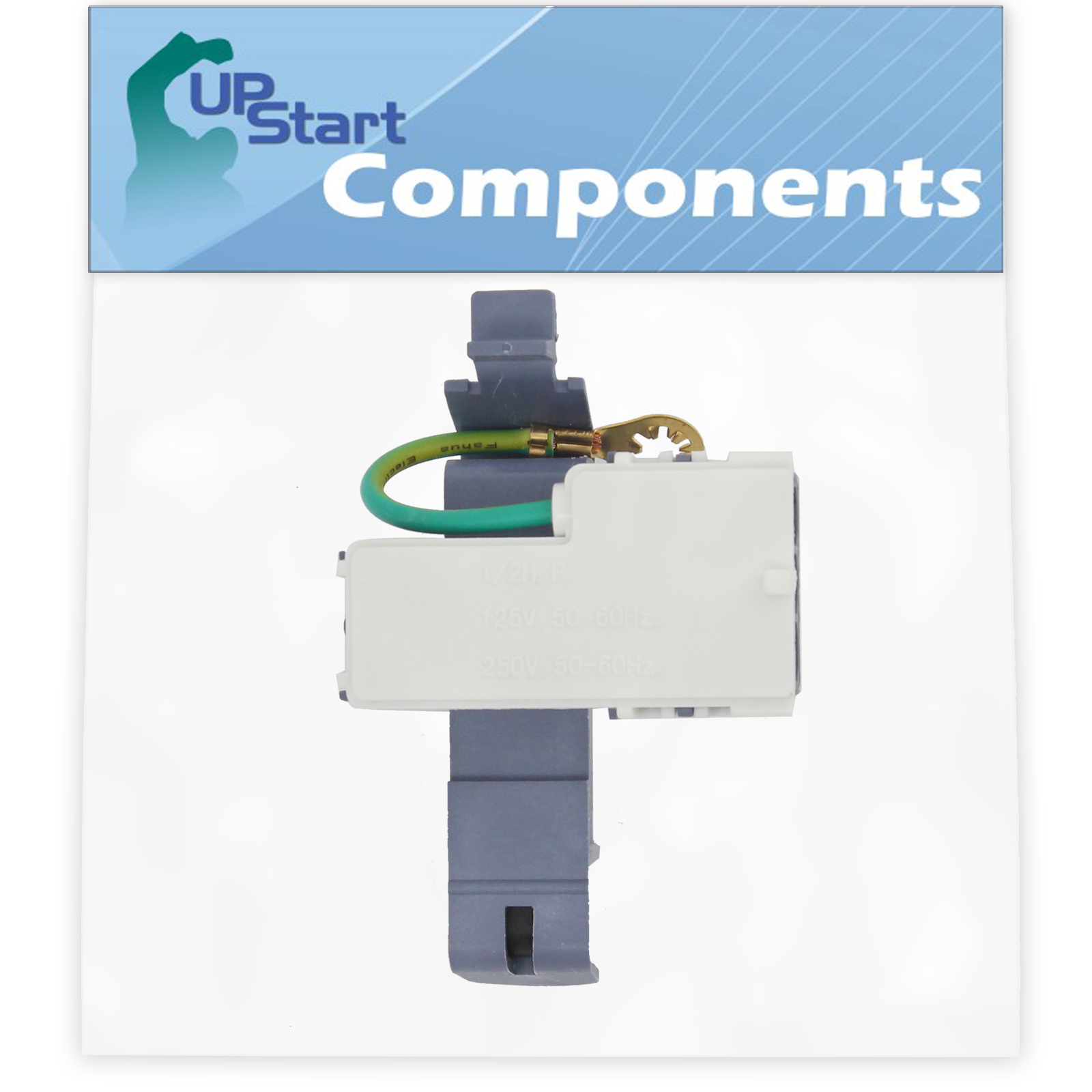 8318084 Washer Lid Switch Replacement for Maytag MTW5870TW0 Washer UpStart Components Brand Compatible with WP8318084 Washer Lid Switch