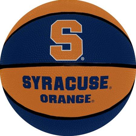 Syracuse  7 25 Inch Mini Size Rubber Basketball   Orange