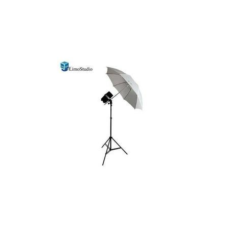 limostudio new single 200 watt photo studio monolight flash strobe umbrella lighting kit - 1 studio flash/strobe, 1 soft umbrella, (1 Monolight)