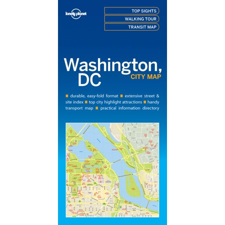 Travel Guide: Lonely Planet Washington DC City Map (Other)