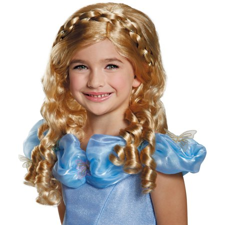 Cinderella Movie Child Wig Child Halloween Accessory - Children's Halloween Movies 2017