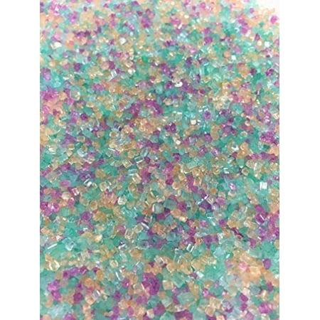 Under the Sea Fancy Glitter Sugar Sprinkles](Black Sugar Sprinkles)