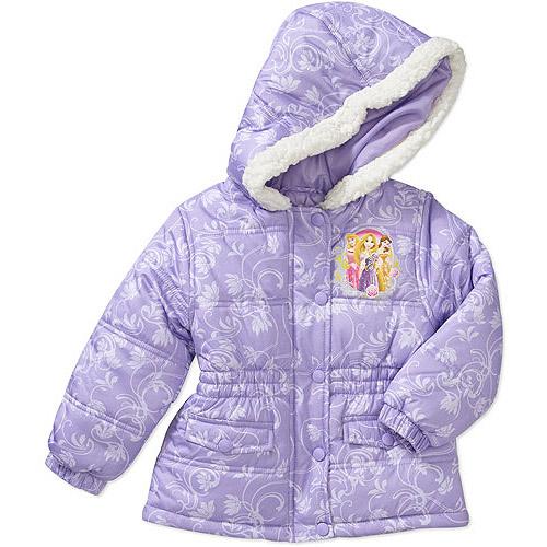 Disney Baby Girls' Princess Winter Coat