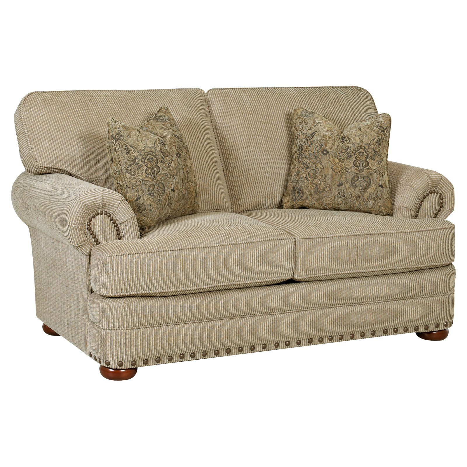 Klaussner Cliffside Fabric Loveseat by Overstock