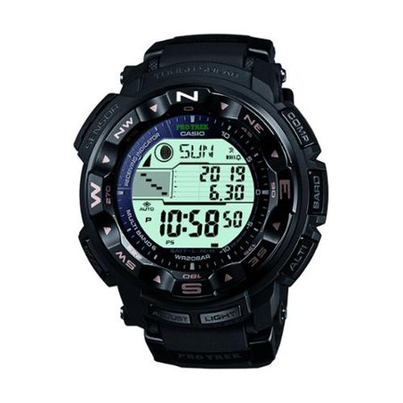 bf546fd1546 Casio - Casio Men s PRW-2500R-1CR Pro-Trek Tough Solar Digital Sport Watch  - Walmart.com