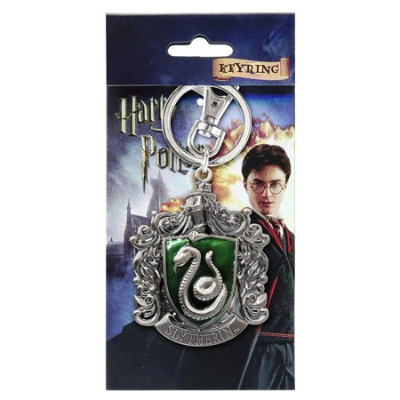 - Slytherin School Crest Pewter Keychain, Metal By Harry Potter