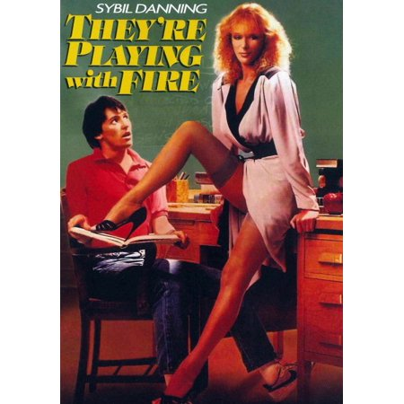 They're Playing With Fire (DVD) (Sybil Danning Halloween)