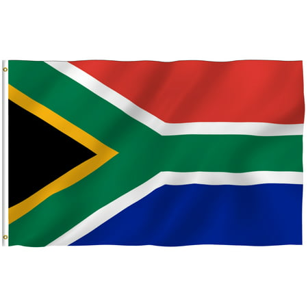 ANLEY [Fly Breeze] 3x5 Foot South Africa Flag - Vivid Color and UV Fade Resistant - Canvas Header and Double Stitched - South African National Flags Polyester with Brass Grommets ()