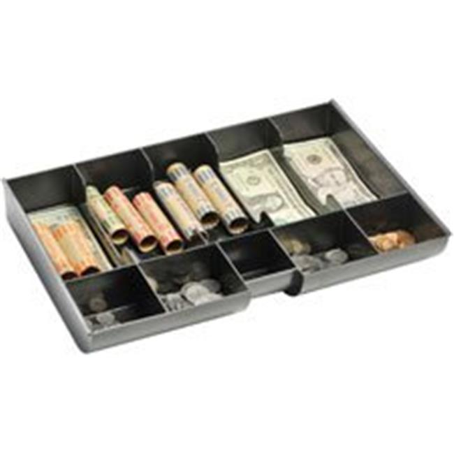 MMF Industries MMF221M23BD Replacement Cash & Coin Tray, Black
