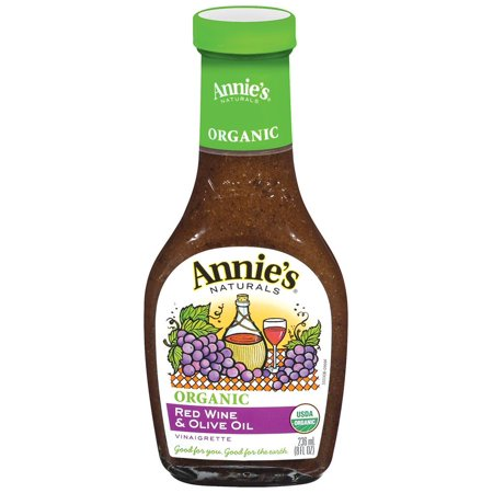 Annie's Naturals Organic Dressing Red Wine and Olive Oil Vinaigrette 8 Fl Oz