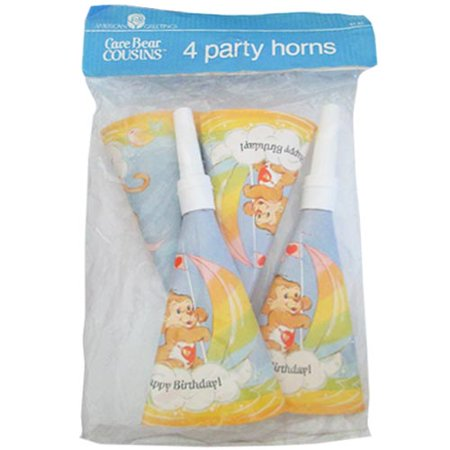 Care Bears 'Care Bear Cousins' Vintage Party Horns
