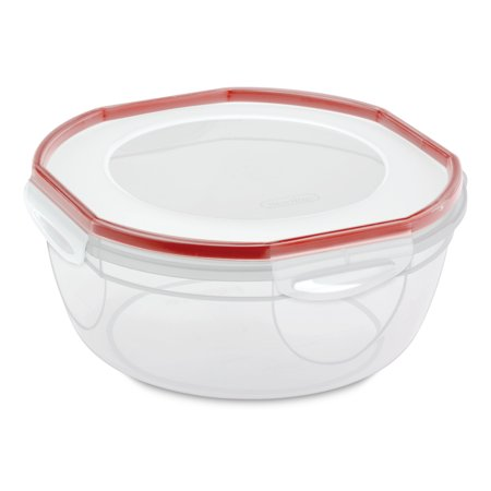 Sterilite, UltraSeal 4.7 Qt. Bowl, Clear