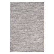 """Java Ombre Charcoal Rug-Color:Grey,Size:36""""Lx24""""Wx0.25""""H"""
