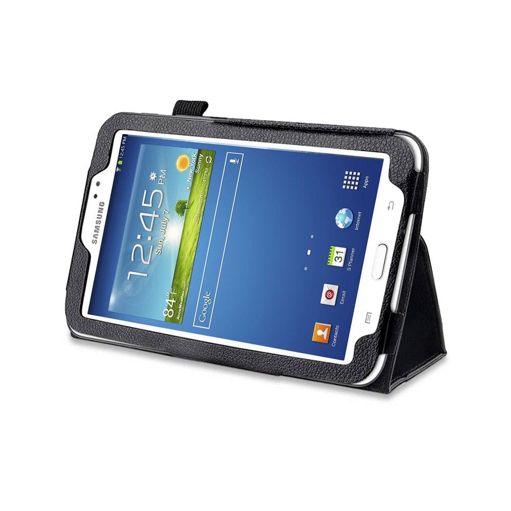 MGear Black Double-Fold Folio Case for Samsung Galaxy Tab 3 7.0 in. Tablet