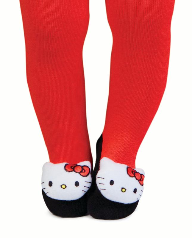 Socks - Hello Kitty - Rattle Tights Baby Accessories 12-18 mos