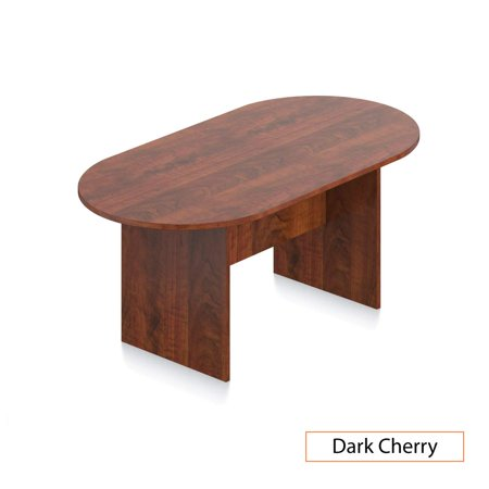 Mahogany Finish Walnut Veneer (GOF 6FT, 8FT, 10FT Conference Table Chair (10900B) Set, Cherry, Espresso, Mahogany, Walnut , Artisan Grey)