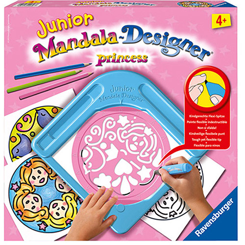 Princess Junior Mandala Designer - Craft Kit by Ravensburger (29893)