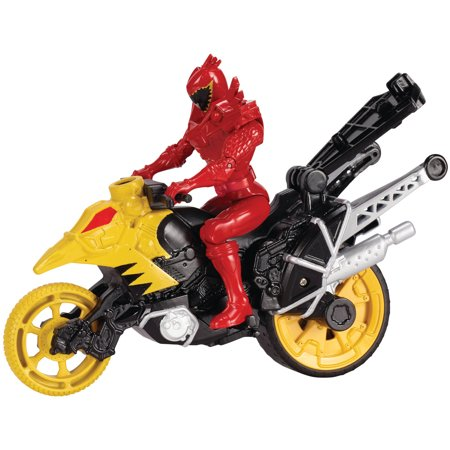 Power Rangers Dino Super Charge Dino Stunt Bike and T-Rex Super Charge Ranger