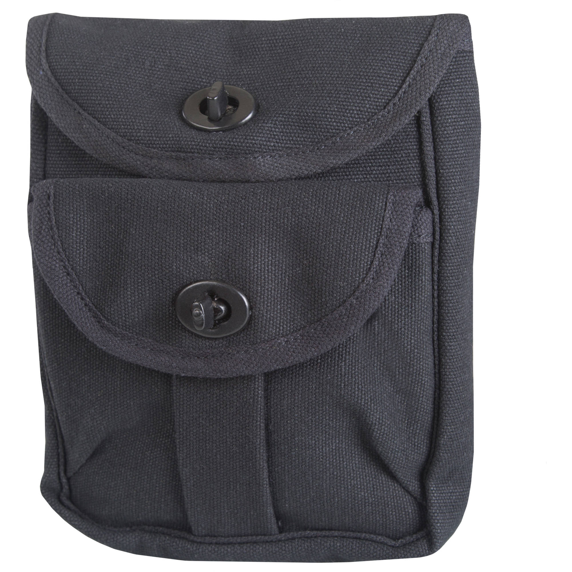 Stansport 2 Pocket Ammo Pouch, Black