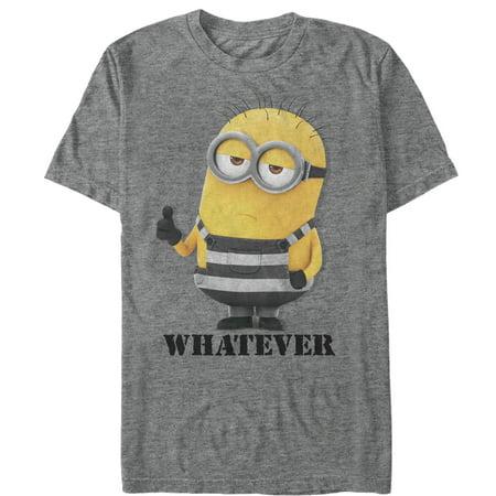 Despicable Me 3 Men's Minion Whatever Prisoner T-Shirt