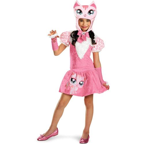 Littlest Pet Shop Deluxe Cat Child Halloween Costume