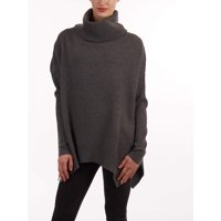 Deals on Sweet Romeo Women's Genevieve Cowl Neck Sweater