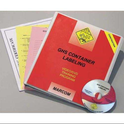 Marcom V0001619ET Container Labeling Construction, DVD