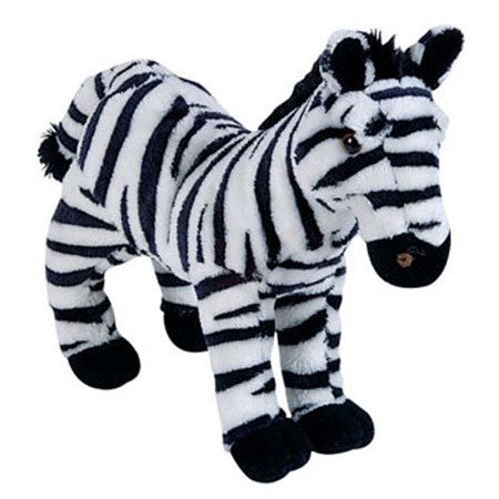 Studded Zebra (Adventure Planet Plush - ZEBRA ( 8 inch)