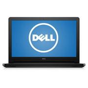 """DELL i5558-2147BLK Windows 10 Laptop Intel Core i3-5015U Processor 2.1GHz 15.6"""" 6GB 1TB HD Windows 10 home 64Bit"""