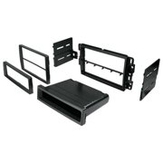 AMERICAN INTERNATIONAL CORP GMK317 Single DIN Or Double DIN Installation Dash Kit for Select 2006-2008 Buick  Chevrolet and GMC Vehicles