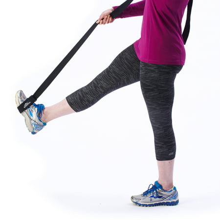 Black Mountain Products Yoga Exercise Strap for Stretching and Flexibility