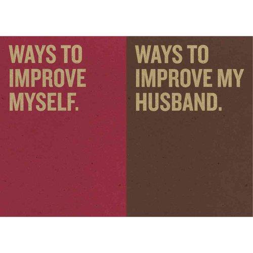 Resolutions: Ways to Improve Myself & Ways to Improve My Husband