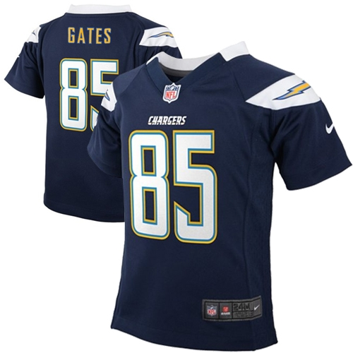Antonio Gates Los Angeles Chargers Nike Infant Team Color Game Jersey - Navy Blue