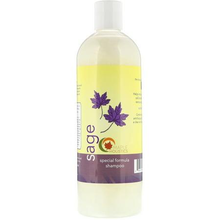 Maple Holistics  Sage  Special Formula Shampoo  16 oz  473 ml