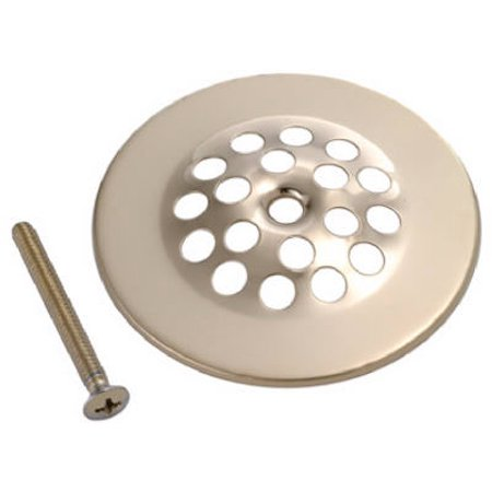 """2-1/2 To 3"""" Polished Brass Finish Shower Drain Strainer Cover, Delta, 828-886"""