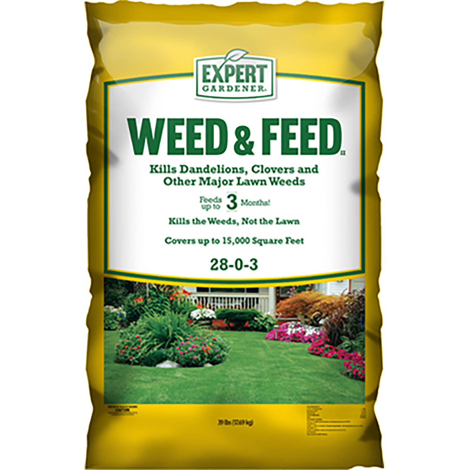 expert gardener weed and feed. Expert Gardener 15,000 Square Feet Weed And Feed Lawn Fertilizer, 28-0-3 X
